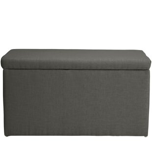Darby Home Co Abbot Linen Polyester Upholstered Storage Bench