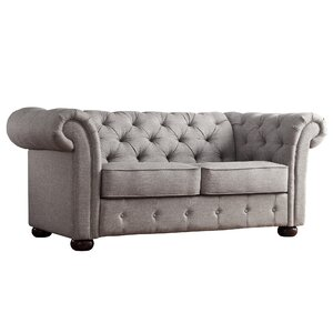 Vegard Tufted Chesterfield Loveseat