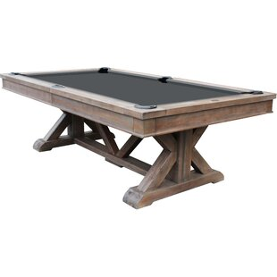 Brazos River Weathered Barn 8' Slate Pool Table