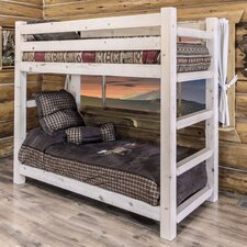 Abella Twin Bunk Bed by Loon Peak
