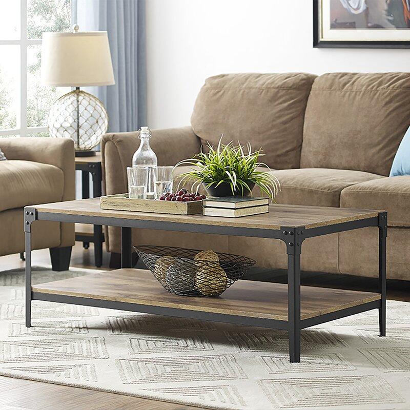 Wood Top Coffee Tables Youu0027ll Love | Wayfair