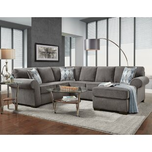 Tandy Reversible Modular Sectional by Red Barrel Studio Best #1