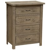 Devereaux 4 Drawer Chest by Union Rustic