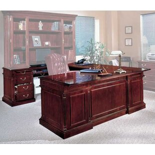 Sadye U-Shape Executive Desk by Canora Grey Best #1