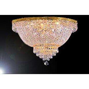 Astoria Grand Loftis 9-Light Flush Mount