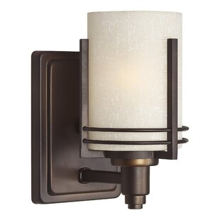 Sheldon 1-Light Armed Sconce by World Menagerie