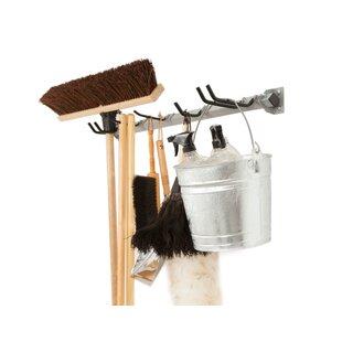 Mop And Broom Storage Rack