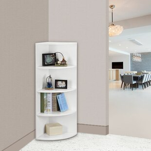 Shanklin 5 Tier Corner Unit Bookcase by Ebern Designs