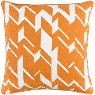 Antonia Square Cotton Throw Pillow Cover
