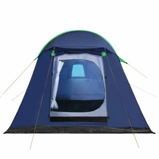Sol 72 Outdoor Camping Tent With Inflatable Beams 320X170x150/110 Cm Blue And Green Image