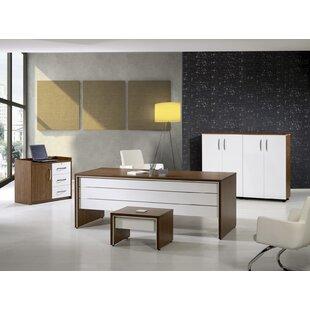 Corrigan Studio Neriah Modern 4 Piece Desk Office Suite