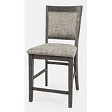 Nicky Upholstered 24 Bar Stool (Set of 2) by Gracie Oaks
