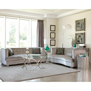 Everly Quinn Koeller 4 Piece Living Room ..
