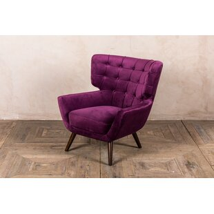 Costilla Swivel Wingback Chair By Corrigan Studio
