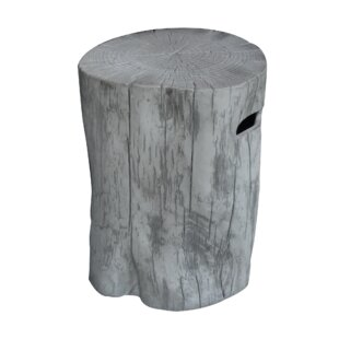Manchester Concrete Stool For Gas Fireplaces By Elementi