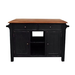 Hearn Kitchen Island by Gracie Oaks Best #1