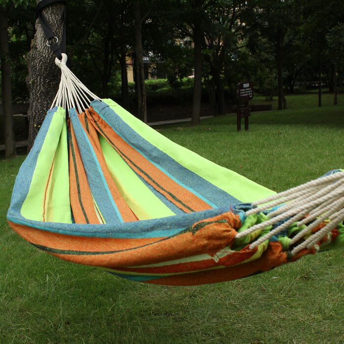 person colorful item camping parachute nylon fabric outdoor in travel furniture sleeping bed hammock family from two on swing portable hammocks for lover