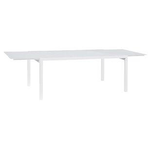 Orren Ellis Santistevan Aluminum Dining Table