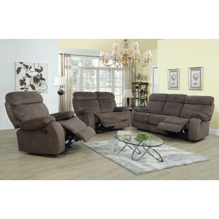 Evins 3 Piece Reclining Living Room Set b..