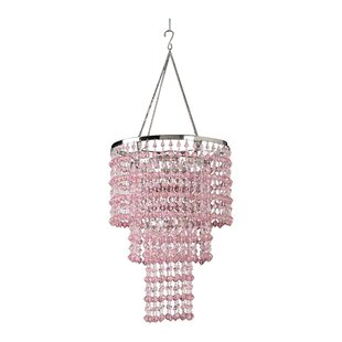 Viv + Rae Kordell Triple Crown 1-Light Crystal Pendant