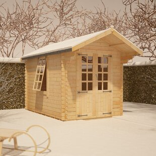 Babylon 8 X 8 Ft. Tongue And Groove Log Cabin By Tiger Sheds