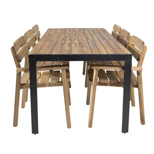 Eivind 6 Seater Dining Set By Sol 72 Outdoor