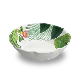 Orient 27 oz. Floral Pasta Bowl (Set of 6)