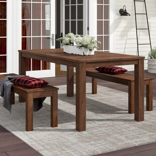 Rockefeller Solid Wood Dining Table by La..
