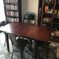 Ttpfurnish Armstrong Extendable Solid Wood Dining Table Wayfair Ca