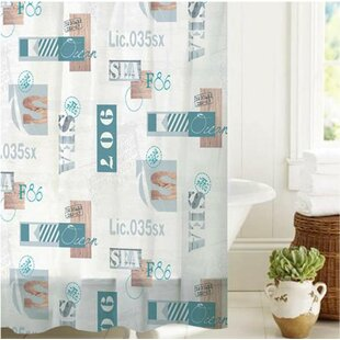 McSheffrey Bath License to Sail Single Shower Curtain