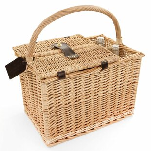 Arundel Willow Picnic Hamper For Two People By August Grove