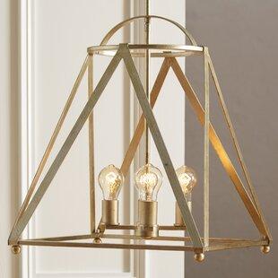 Faux bamboo chandelier wayfair save aloadofball Images