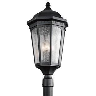 Courtyard Outdoor 3-Light Lantern Head by Kichler