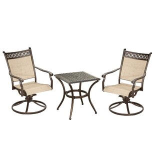 Red Barrel Studio Dreer 3 Piece Bistro Set