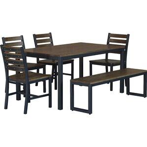 Loft  6 Piece Dining Set by Elan Furniture