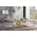 Yokley Frame Coffee Table by Everly Quinn