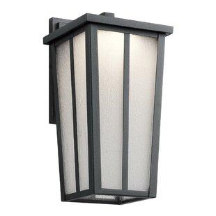 Brayden Studio Inglesbatch 1-Light Outdoor Wall Lantern