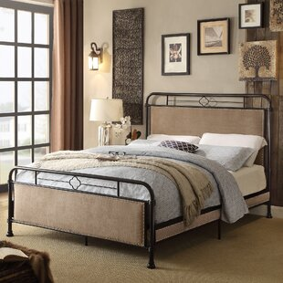 Adan Upholstered Panel Bed by Alcott Hill