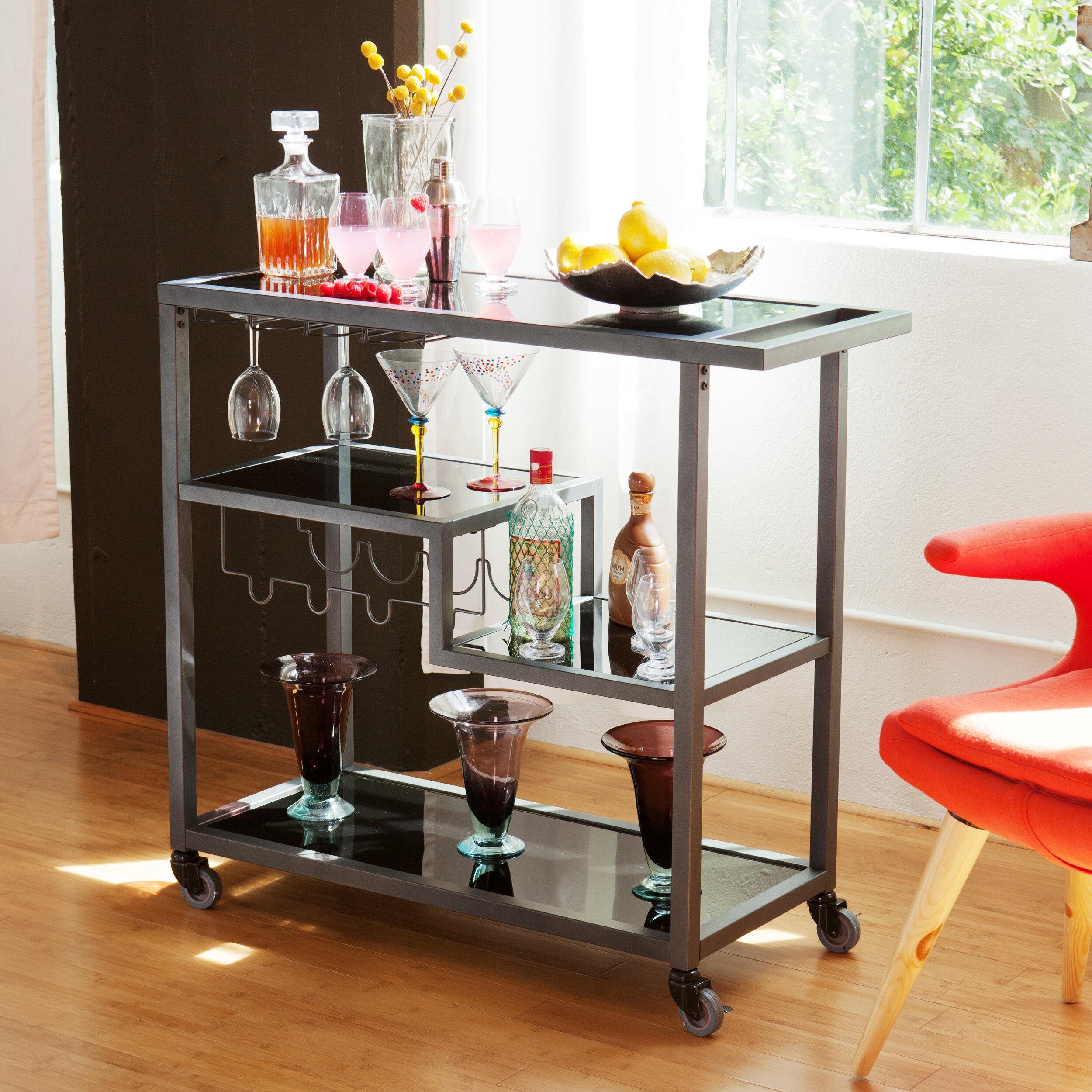 Mercury Row Aguila Bar Cart & Reviews | Wayfair on basic bar, audio bar, mac bar,