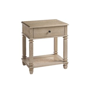 Longshore Tides Justice 1 Drawer Nightstand