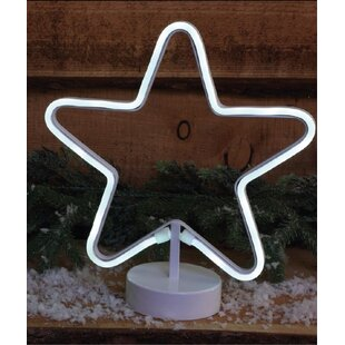 116 Cool White Star Rope Lights By LG Outdoor