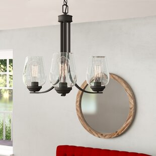 Chubbuck 3-Light Shaded Chandelier by Laurel Foundry Modern Farmhouse
