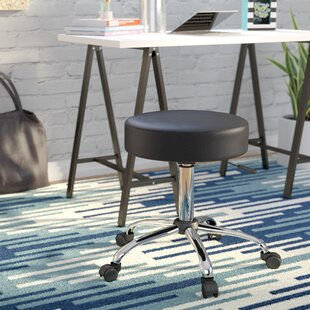 Wilhelm Adjustable Stool with Dual Wheel