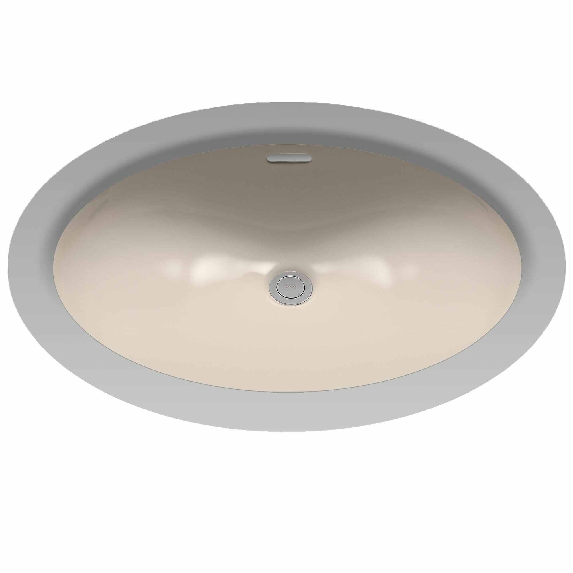 Toto Augusta Decorative Ceramic Oval Undermount Bathroom Sink With Overflow Reviews Wayfair