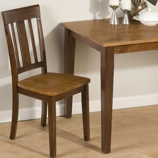 Panama Triple Upright Solid Wood Dining Chair (Set of 2)