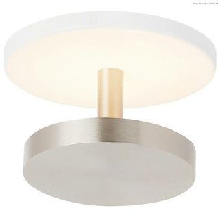 Penton 6-Light LED Semi Flush Mount by Orren Ellis
