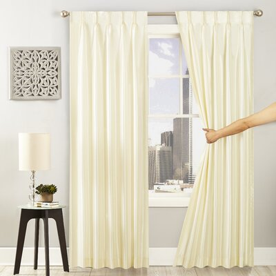 Ivory And Cream Pinch Pleated Curtains Amp Drapes You Ll