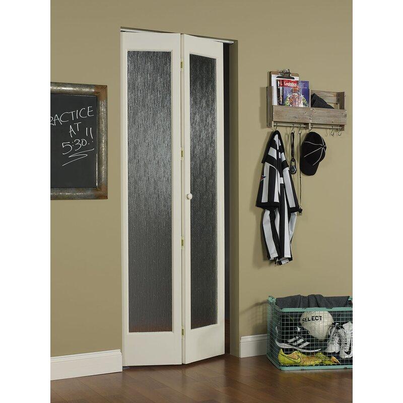 Wood Unfinished Bi Fold Interior Door