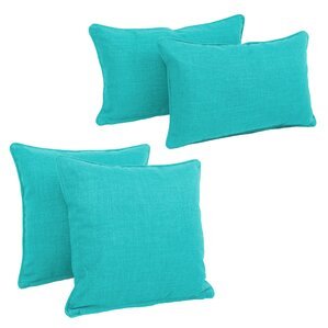 Octave 4-Piece Indoor/Outdoor Throw Pillow Set
