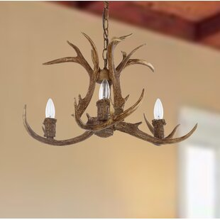 Loon Peak Wagoner 3-Light Candle Style Ch..